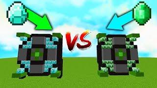 ELMAS VS ZÜMRÜT OMNİTRİX ŞANS BLOKLARI! 😱 - Minecraft