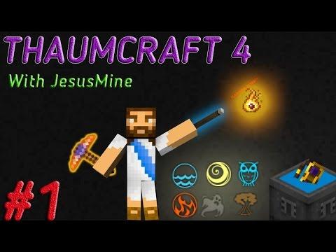  LP  ThaumCraft4 - #1 (Первые шаги!)