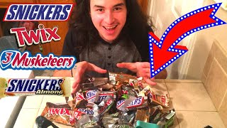 I MELTED EVERY POPULAR CHOCOLATE BAR TOGETHER!!!