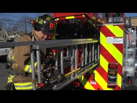 New Fire truck serving Ohio State, northside areas - YouTube
