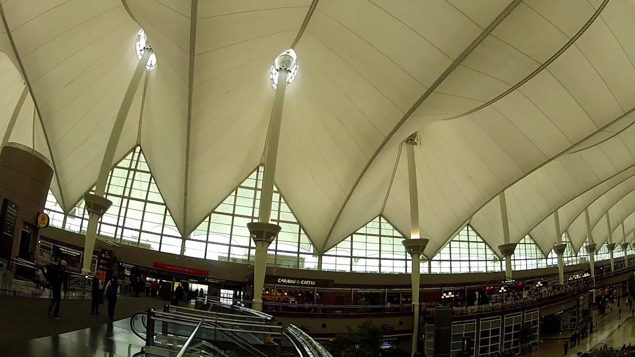 Denver International Airport Main Terminal Roof Architecture