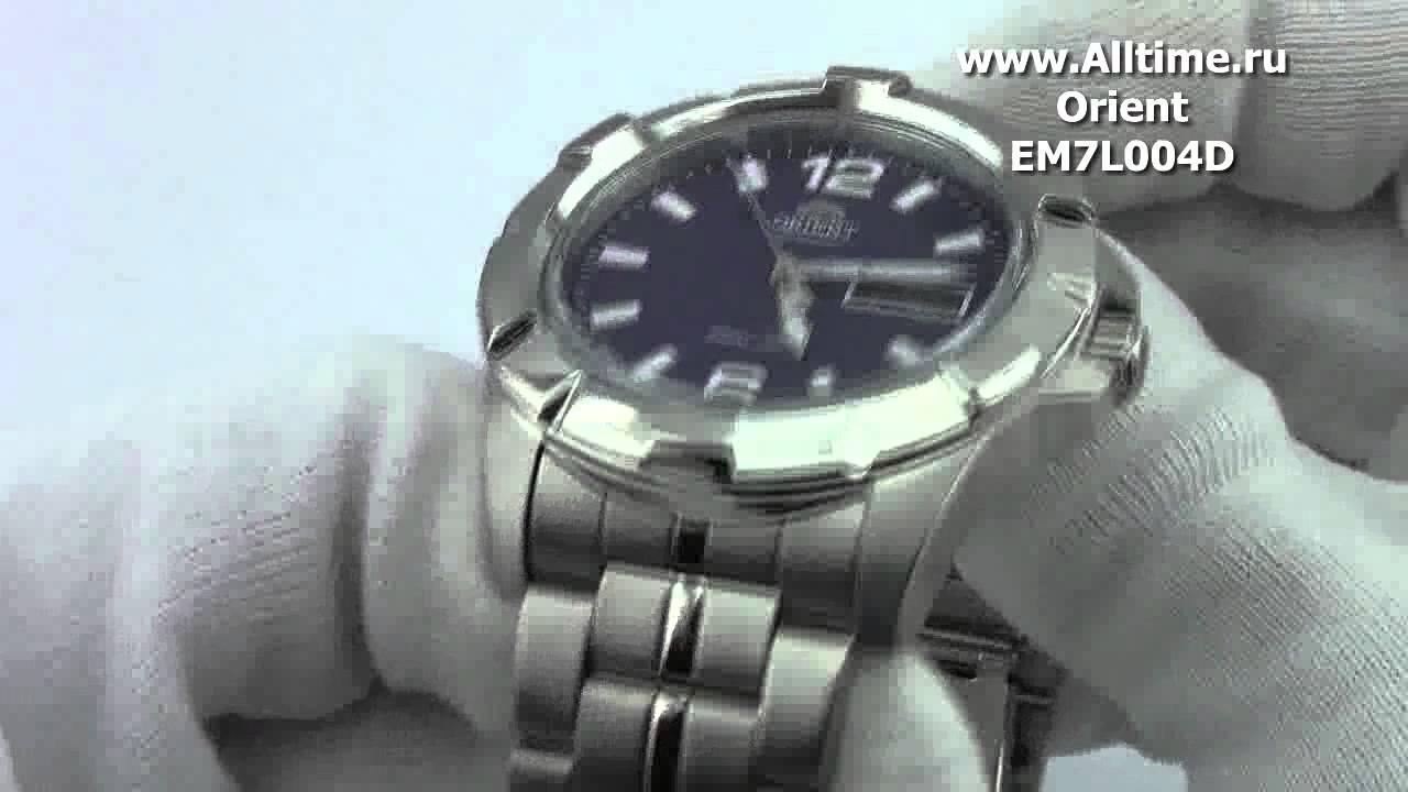 Часы Orient EM7L004D Часы Earnshaw ES-8041-06