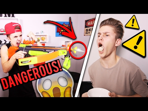 EXTREME CROSSBOW CHALLENGE *FORFEITS INCLUDED* | Jake Mitchell