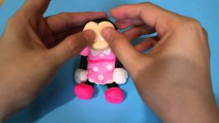 How to make Minnie Mouse fondant topper