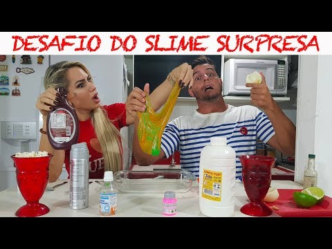DESAFIO DO SLIME SURPRESA