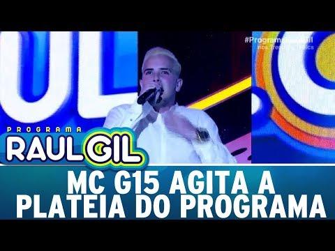 MC G15 agita a plateia do programa | Programa Raul Gil (05/08/17)