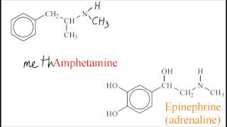 D.5.2 Compare amphetamines and epinephrine (adrenaline) IB Chemistry SL