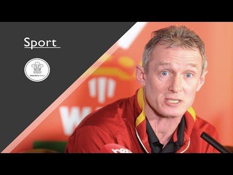 Wales Interim Head Coach Rob Howley press conference