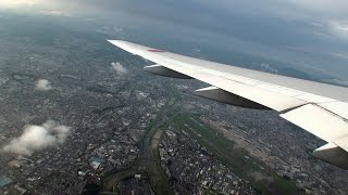 ノーカット64分!!! 伊丹空港発羽田空港行 離陸から着陸まで!!! 電子機器使用制限緩和 ANA34便 Boeing 777-2 [機窓2014] thumbnail