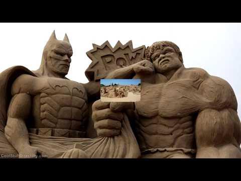 Esculturas de Areia - Sand Sculptures - Grupo Incríveis Imagens