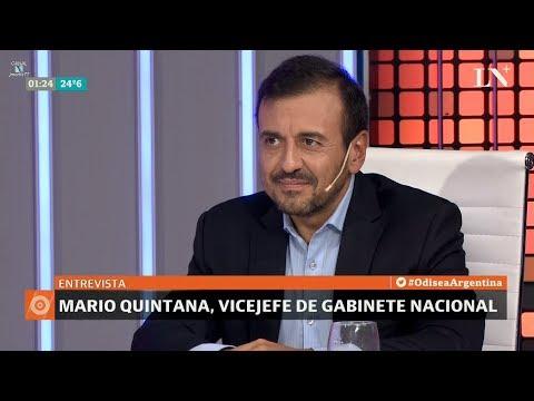 """Mario Quintana en """"Odisea Argentina"""", de Carlos Pagni - 09/04/18"""