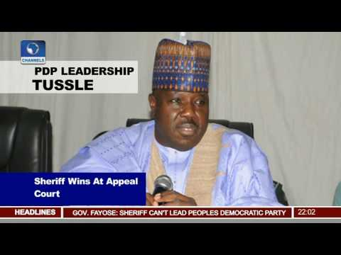 PDP Leadership Tussle: Appeal Court Rules In Ali Modu Sheriff's Favour