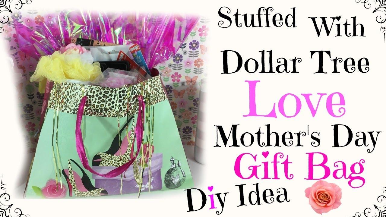 Diy dollar tree mother s day gift bag youtube