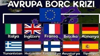 Avrupa BORÇ KRİZİ Türkiye AB ye GİRECEK Mİ