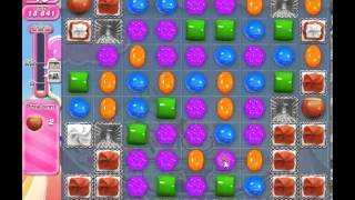 How to beat Candy Crush Saga Level 185 - 1 Stars - No Boosters - 103,261pts