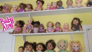 BABY ALIVE Collection & Vlog!