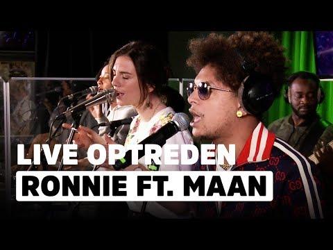Ronnie Flex ft. Maan - Blijf Bij Mij   Live bij Evers Staat Op