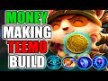 NEW MONEY MAKING TEEMO WITH NEW GOLD KEYSTONE RUNE KLEPTOMANCY - League of Legends
