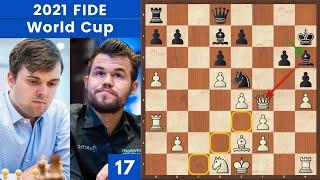 Il Blocco Assoluto. Geniale! -  Fedoseev vs Carlsen | FIDE World Cup 2021
