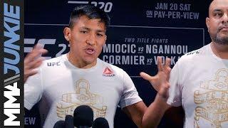 UFC 220: Enrique Barzola full post-fight interview