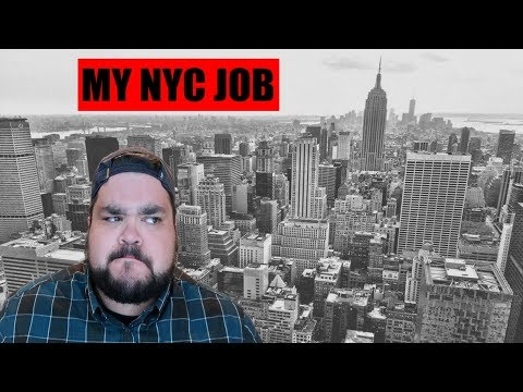 WHAT'S MY NYC JOB? | MAKING A LIVING IN NYC
