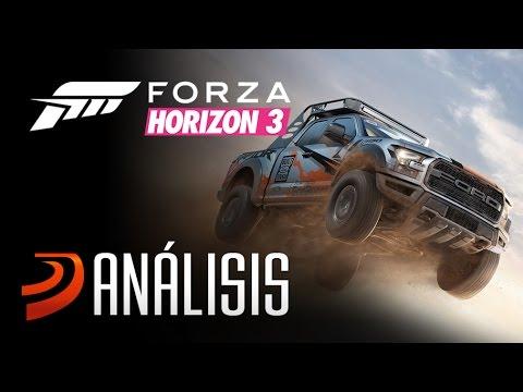 Forza Horizon 3 - Análisis de un juego de coches ESPECTACULAR