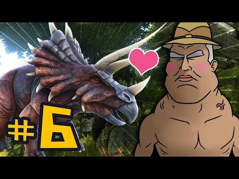 ARK Survival Evolved #6 - No Friends, Just Triceratops
