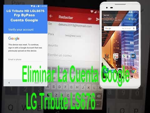 LG Tribute HD LS676 Google Account bypass/FRP/Andriod/ 6 0 1