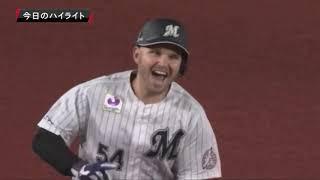 2019年4月16日 千葉ロッテ対福岡ソフトバンク 試合ダイジェスト