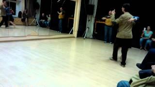 2013.11.17 - Курс танго-вальса. Урок 3. Повороты и вращение в вальсе.