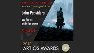 2018 CSA Artios Awards Interview - Best Feature Big Budget Drama