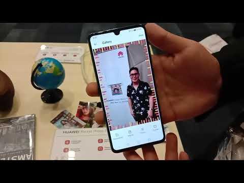 LG Pocket fotocamera istantanea e stampante fotografica