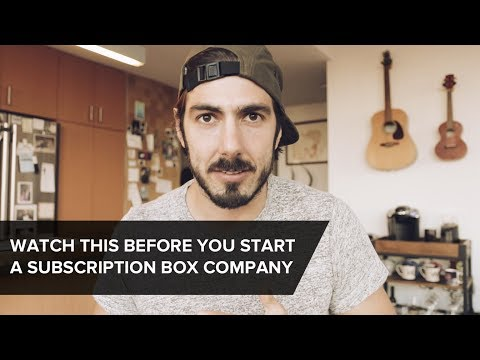 Advice for Starting a Subscription Box Company from a Founder - WATCH THIS FIRST [startup vlog]