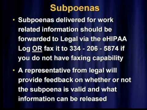 Alabama Department Of Public Health EHIPAA Log Training