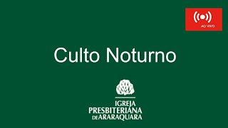 Culto Noturno 01/11/2020 -0 - Rev. Eduardo Venancio