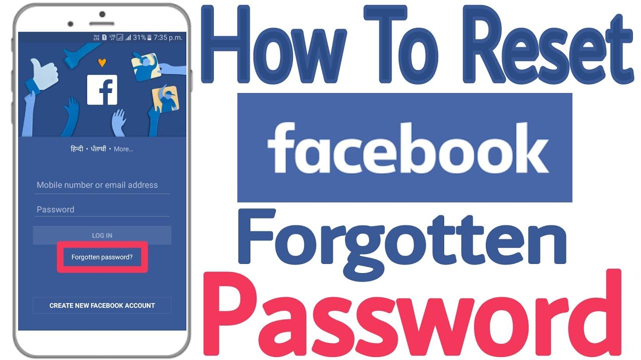 Facebook com forgot my password