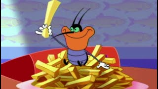 Oggy und die Kakerlaken 😋 Dee dee liebt Pommes 😋 Volledige aflevering in HD