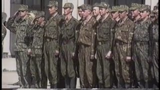 Victory Day in Chechnya 1996 Parade Russian Anthem