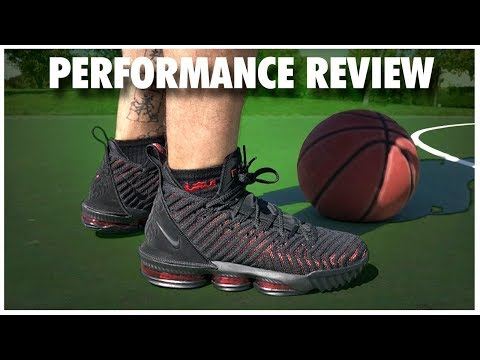 new products fea00 0a198 Nike LeBron 16 Performance Review - YouTube