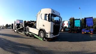 Megérkezett a Scania S520 V8
