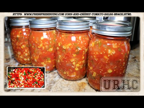 Corn And Cherry Tomato Salsa