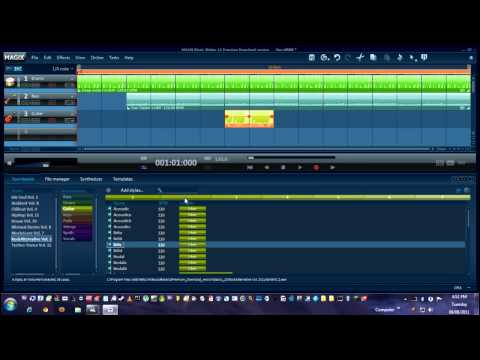 Magix Music Maker - How To Make a Simple Beat