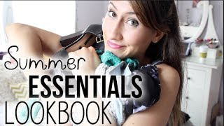 SUMMER ESSENTIALS LOOKBOOK 2014 (feat. Forever 21, Brandy Melville, & Express) | itsLyndsayRae Thumbnail