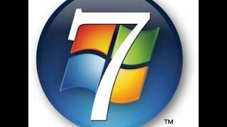 Windows 7, comment afficher ou masquer les icones du bureau