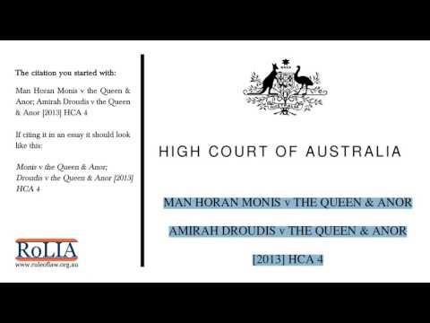 Part 2 - Understanding Case Citations