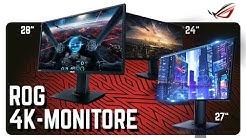 4K / UHD-Monitore für Gamer