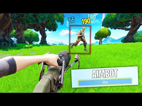 EPIC added AIMBOT in Fortnite... (new update)