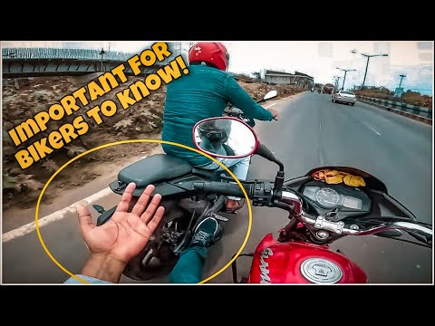 Every Biker Should Try This, If Needed!