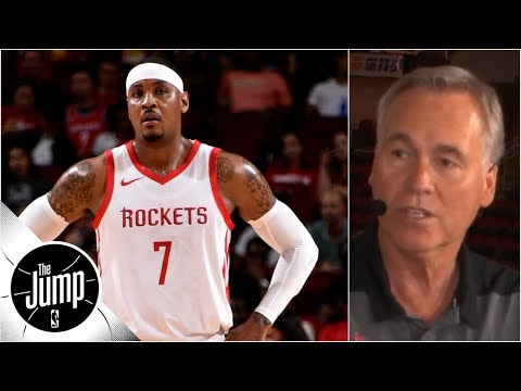 D'Antoni on Melo: 'If he wants to do everything for the team,' he'll fit well on Rockets   The Jump