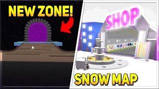 NEW UPDATE SNOW MAP & MYTHIC ZONE!   Pet Simulator